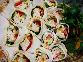 Catering Kyckling Wraps